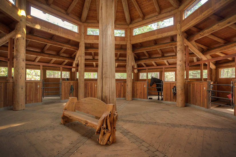 Pole Barn Interior Designs
